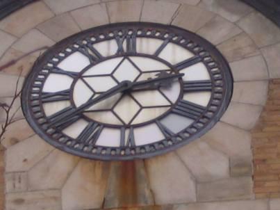Dundas Post Office Clock