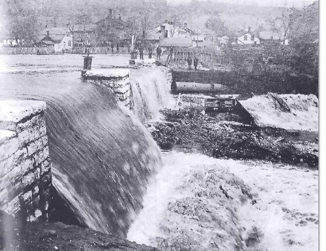 Ewart's Dam one