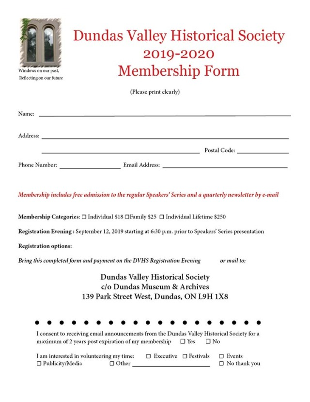 DVHS Membership Form 2019 to 2020 for Media
